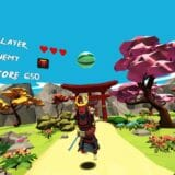 VRの世界で刀を振り回す!Oculus Go「Virtual Ninja VR」プレイレビュー