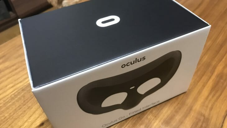 Oculus Goの追加アクセサリー「接眼パーツ(フィット)」レビュー
