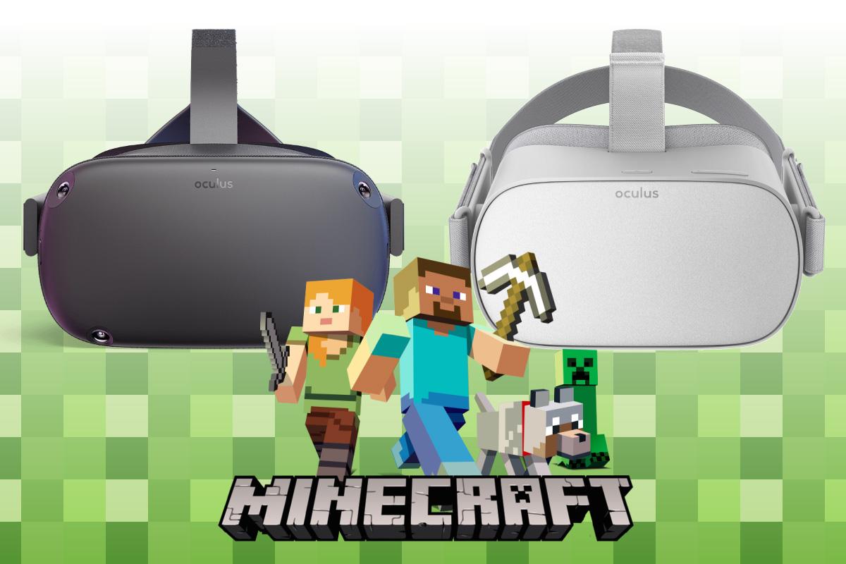 Minecraft(マインクラフト)』のOculus Go版やOculus Quest版が