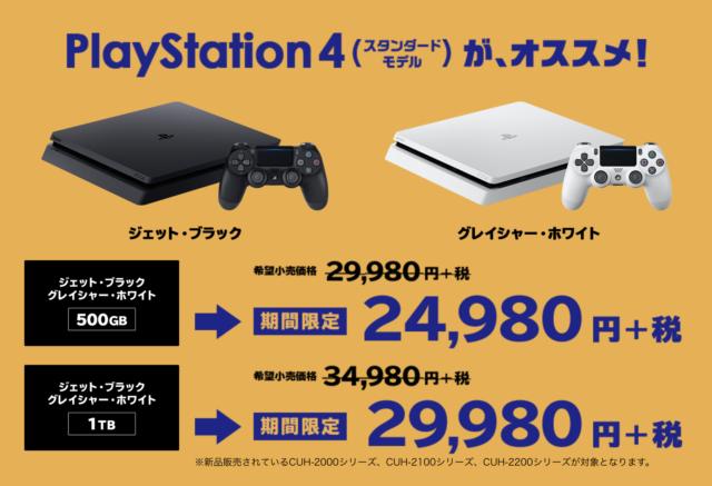 通常価格29,980円(税別)が、24,980円(税別)