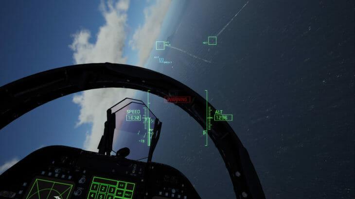 『エースコンバット7 スカイズ・アンノウン』PSVR版VRモードの体験版が無料配信中
