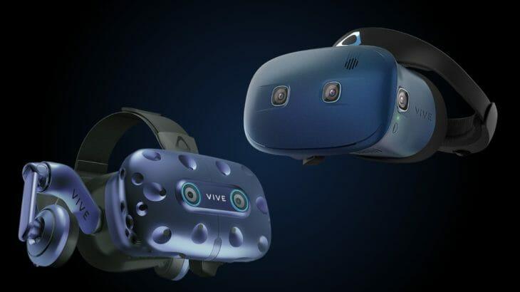 アイトラッキングが標準搭載された『VIVE Pro Eye』新ヘッドセット『VIVE COSMOS』をHTC VIVEが発表