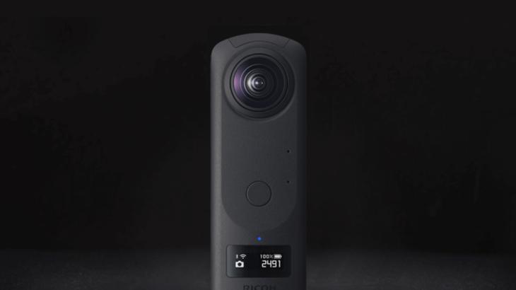 『RICOH THETA Z1』発表、1.0型センサー搭載で高精細な7K写真を実現