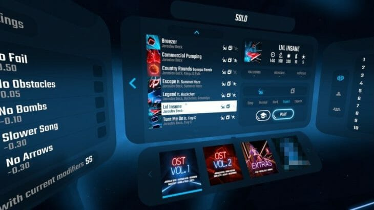 『Beat Saber』が3月14日にアップデート&追加DLC第1弾が配信