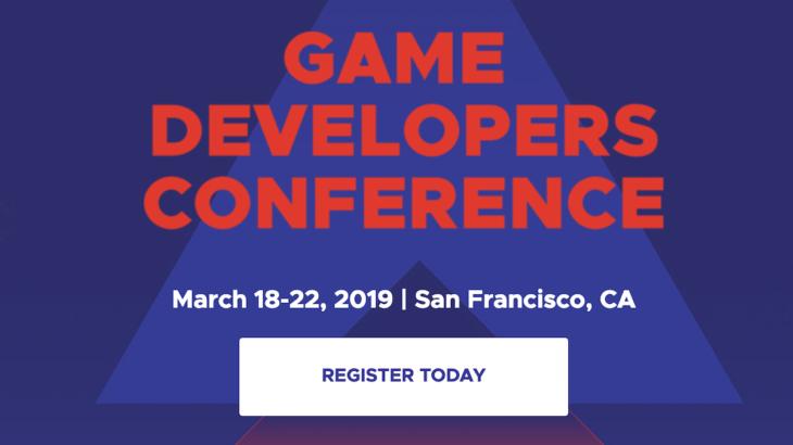 『GDC 2019』が3月19日から開催、GoogleやOculus、Valveが参加する注目のイベント