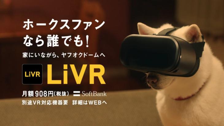 スポーツをVRでライブ観戦『LiVR』をソフトバンクが提供開始