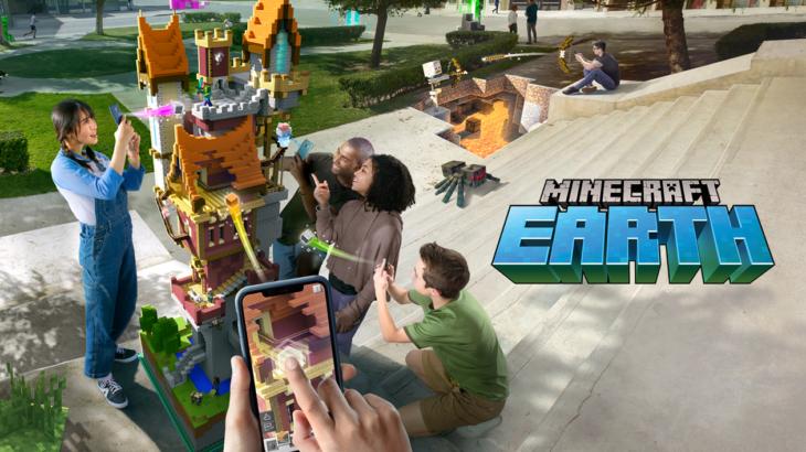 マインクラフトのARゲーム『MINECRAFT EARTH』発表。全世界がマインクラフトの遊び場に