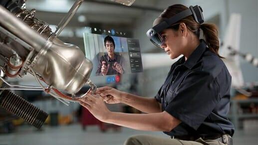 マイクロソフト『HoloLens2』を販売開始。法人向けMRヘッドセット