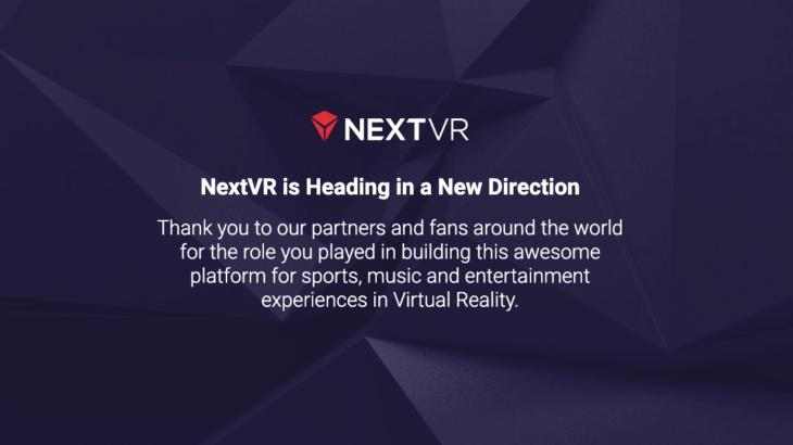 AppleがVRコンテンツ配信プラットフォーム『NextVR』を買収