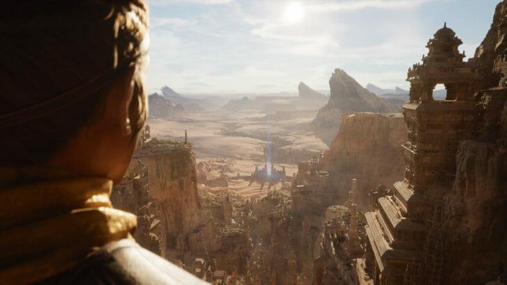 次世代ゲームエンジン『Unreal Engine 5』発表、PS5実機で動くデモを公開